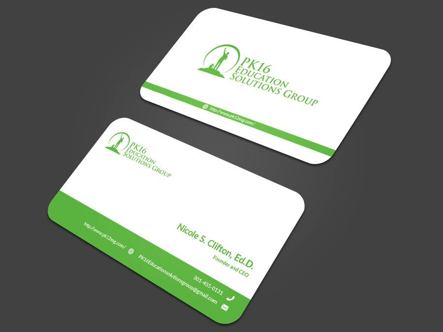 Entry #31 by zerOnepro for Business card for education consultant ...