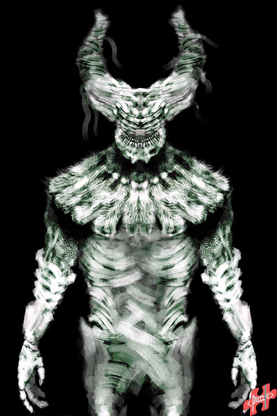 Proposition n°22 du concours Design a monster character Concept Art