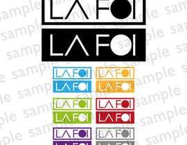 nº 13 pour Diseñar un logotipo para la Marca LA FOI par dlcv