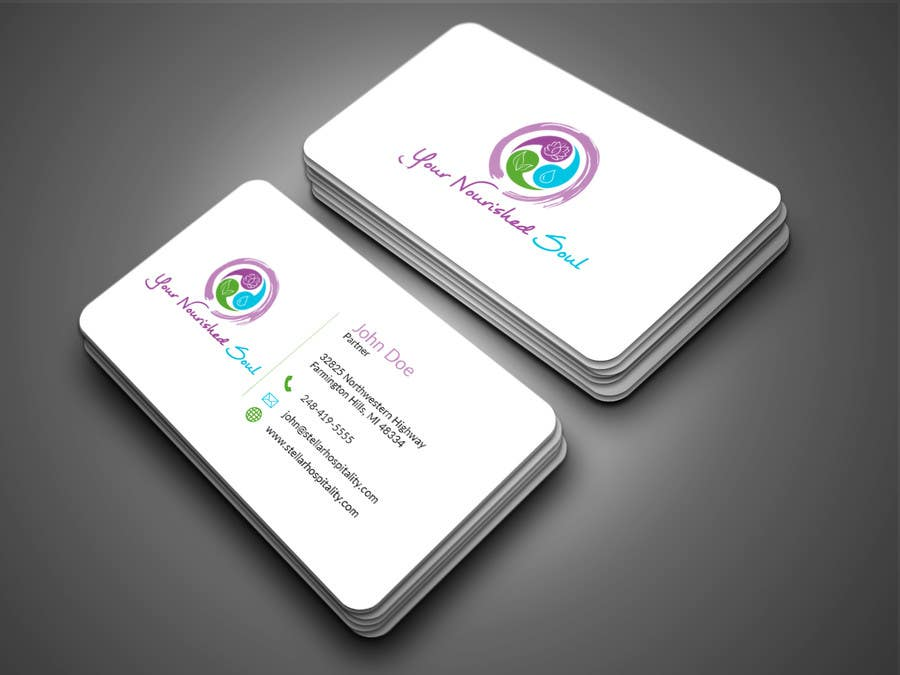 Proposition n°1 du concours I need business cards designed