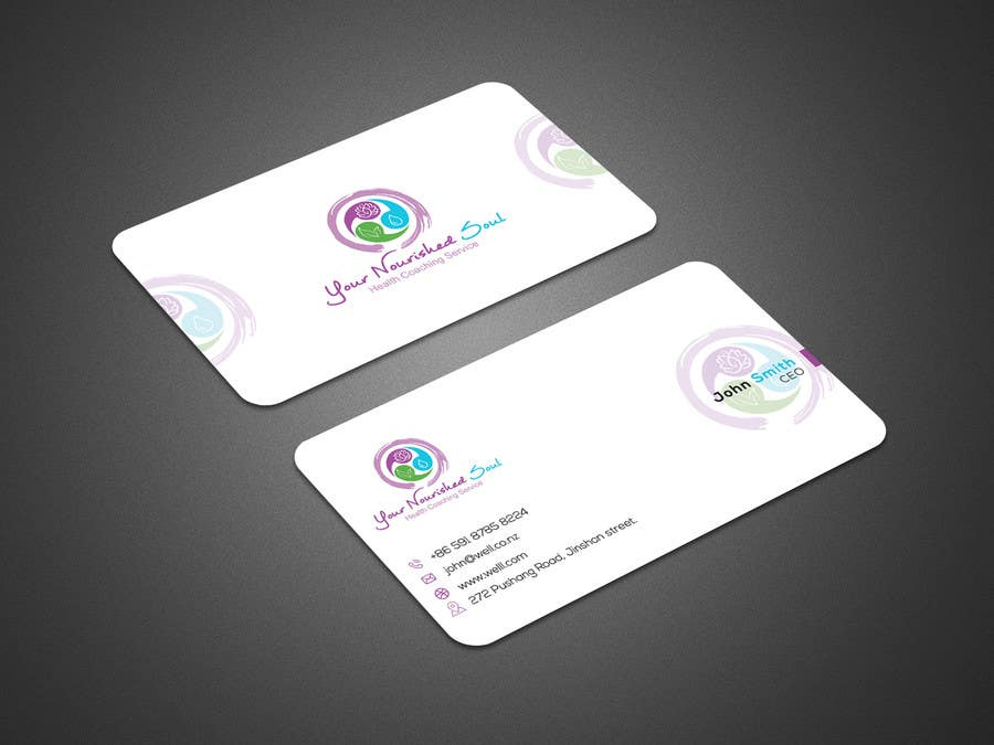 Proposition n°37 du concours I need business cards designed