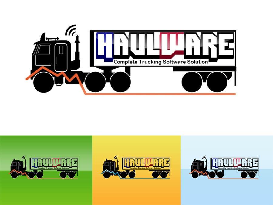 Конкурсная заявка №35 для Logo Design for HaulWare