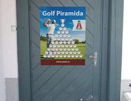 nº 5 pour Design a piramide system board for golf tournament par romanpetsa