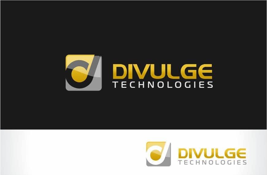Penyertaan Peraduan #86 untuk Logo Design for Divulge Technologies