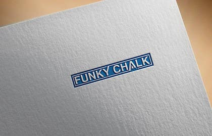 #225 for Funky Chalk logo by firstlogo