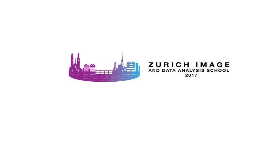 Kilpailutyö #13 kilpailussa Design a Logo for Zurich Image and Data Analysis School 2017 (ZIDAS2017)
