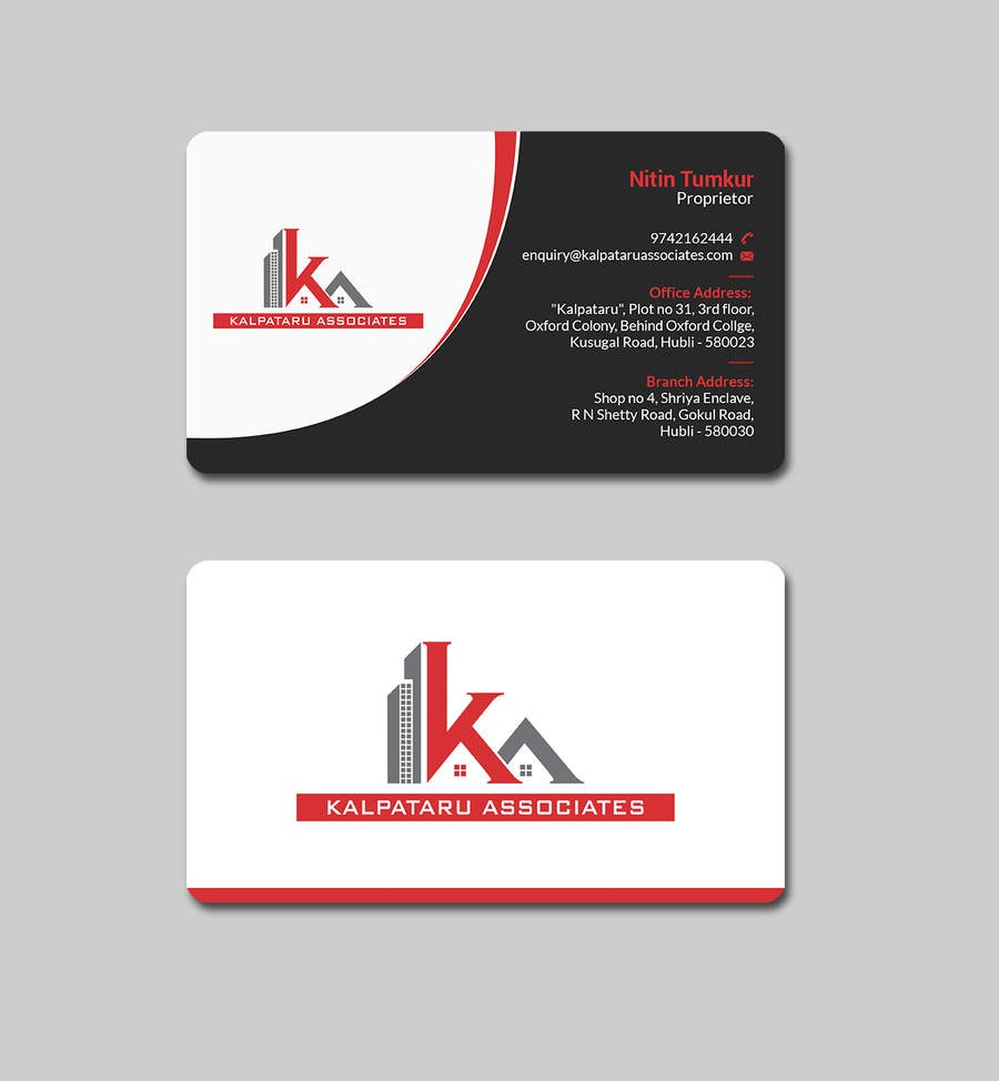 Contest Entry #208 For Design Visiting Card