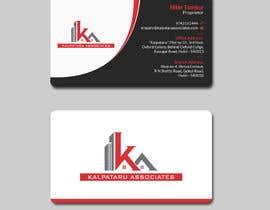 Nro 208 kilpailuun Design visiting card käyttäjältä mahmudkhan44