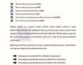 Nro 1 kilpailuun Law Firm Handout käyttäjältä mysteriousbd