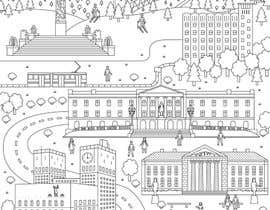 #11 for Coloring page of Oslo by vitlitstudio