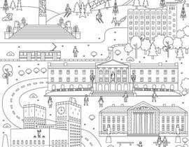 #15 for Coloring page of Oslo by vitlitstudio