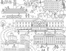 #19 for Coloring page of Oslo by vitlitstudio