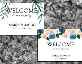 #14 for Floral themed wedding invitation set by zahra0501