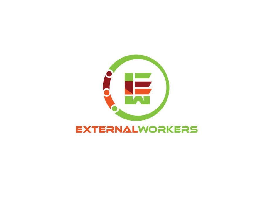 Proposition n°2 du concours Logo ExternalWorkers