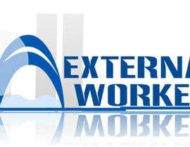 nº 5 pour Logo ExternalWorkers par HamzaPro1