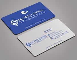Nro 76 kilpailuun Pro Design some Business Cards for Pest Control Company käyttäjältä mmhmonju