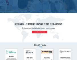 nº 26 pour Design Website Mockup par Webicules