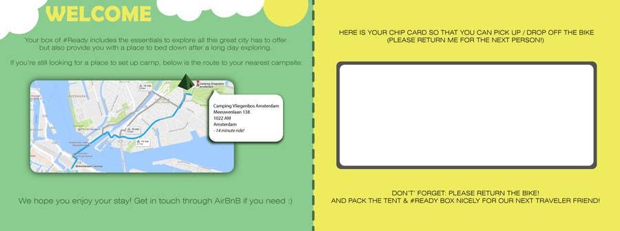 Proposition n°1 du concours Design a flyer for a new concept idea!