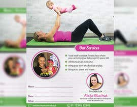 #43 for Design a Flyer for fitness class by pixelmanager