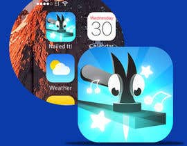 nº 106 pour Nailed It! - Design iOS game icon par ivilvend