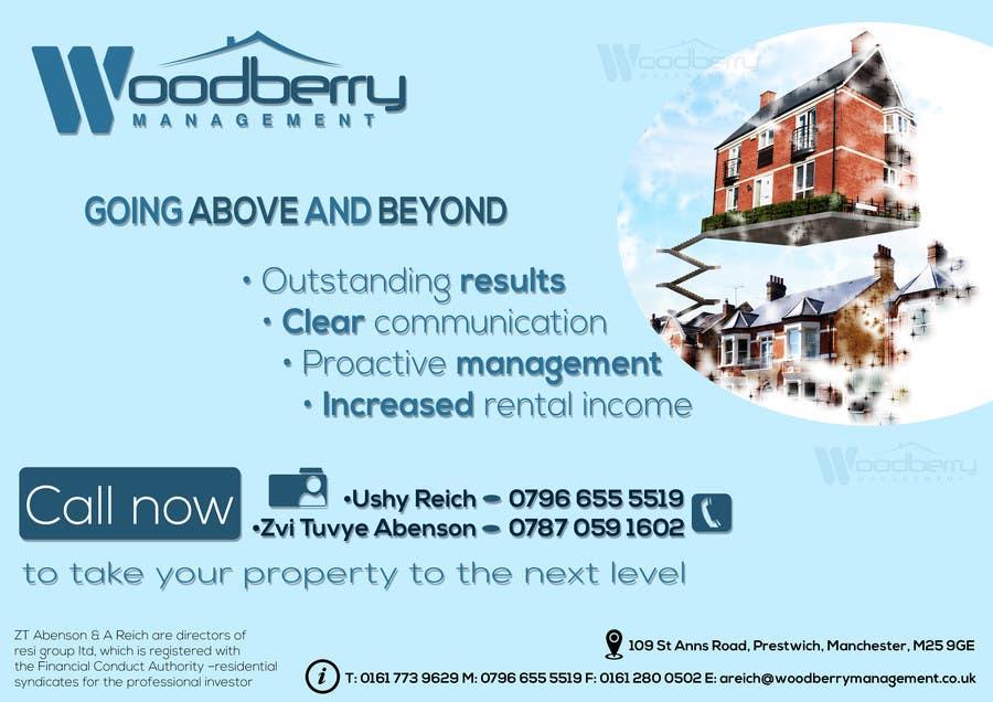 Proposition n°6 du concours new property management advert