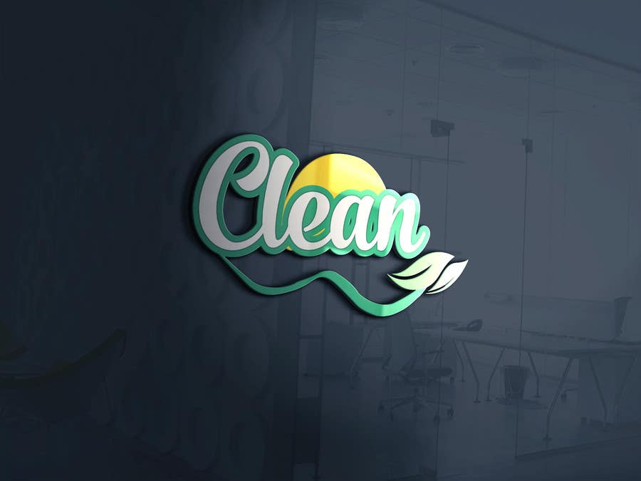 Proposition n°50 du concours I need a LOGO Design for CLEAN brand name.
