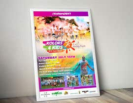 #12 for Design a Color Run Poster and Handout Combo for Non-Profit by naveen14198600
