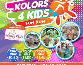 nº 17 pour Design a Color Run Poster and Handout Combo for Non-Profit par ericzgalang