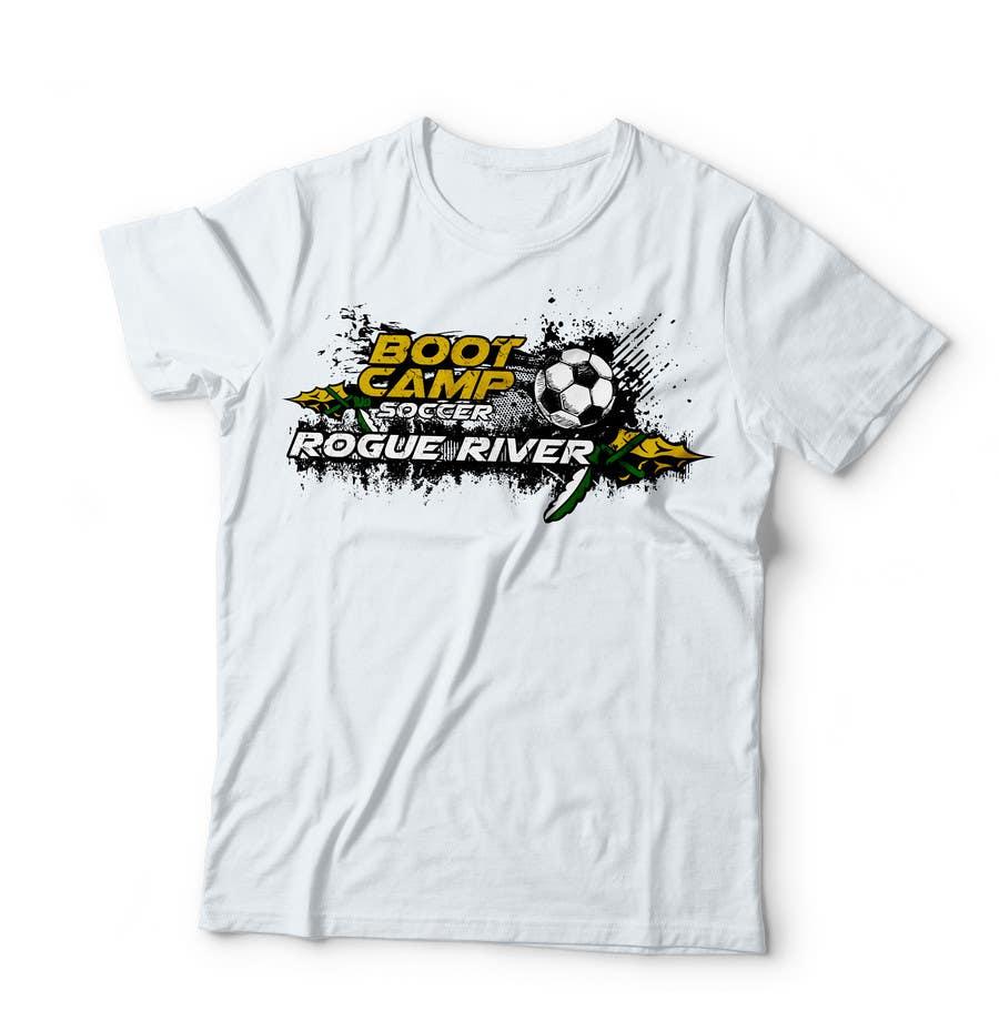 Kilpailutyö #                                        59                                      kilpailussa                                         Soccer Camp T-Shirt