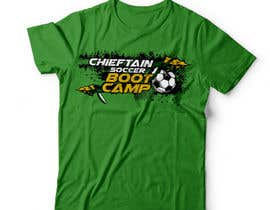 #71 for Soccer Camp T-Shirt by DAISYMURGA