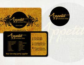#65 for Business Card Design for Appétit Function Hire by designer12
