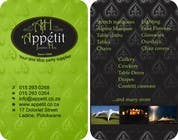 Contest Entry #70 for Business Card Design for Appétit Function Hire