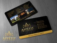 Print Contest Entry #55 for Business Card Design for Appétit Function Hire