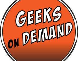 nº 117 pour Design a Logo Geeks on Demand par pandalotero95