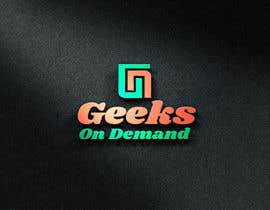 nº 107 pour Design a Logo Geeks on Demand par nazninshaon