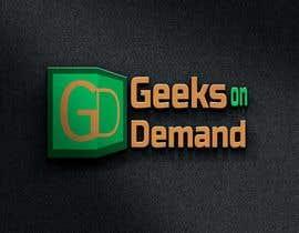 nº 111 pour Design a Logo Geeks on Demand par shakhawathossen7