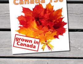 nº 8 pour CANADA 150 Sticker design par Iliuk
