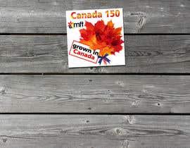 nº 15 pour CANADA 150 Sticker design par Iliuk