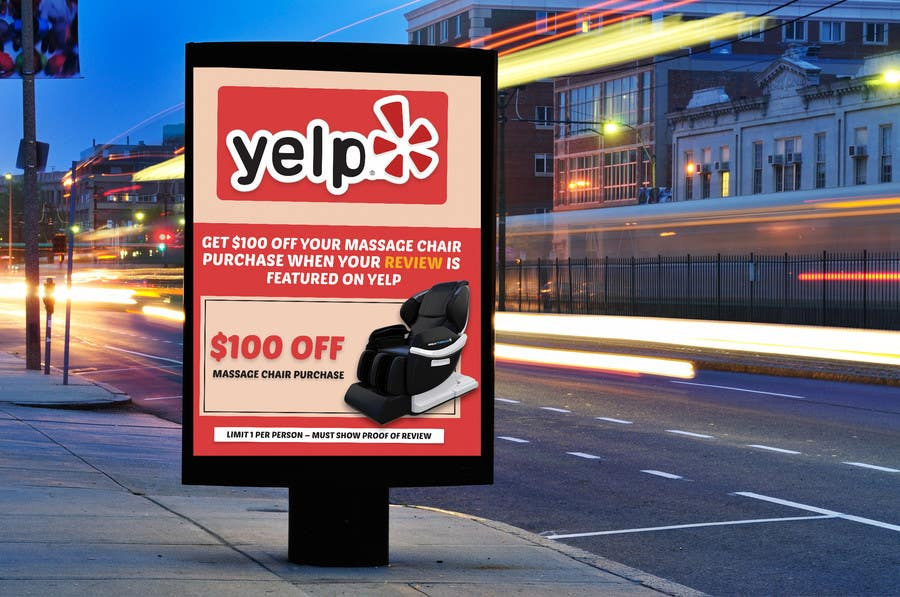 Proposition n°70 du concours FAST WORK - EASY MONEY - Design a Yelp Promotional Flyer