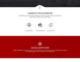 nº 28 pour Design a Website Mockup for Lawyer par syrwebdevelopmen