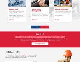 Nro 51 kilpailuun Design a Website Mockup for Commercial Builders käyttäjältä webmastersud