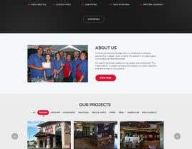 Nro 45 kilpailuun Design a Website Mockup for Commercial Builders käyttäjältä surajit666