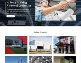 Nro 44 kilpailuun Design a Website Mockup for Commercial Builders käyttäjältä csatya