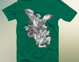nº 68 pour T-Shirt Design:  Catholic Saint Michael the Archangel par FARUKTRB