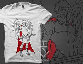 nº 60 pour T-Shirt Design:  Catholic Saint Michael the Archangel par tsproject10
