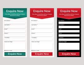 nº 8 pour I need some form widget designed for my website sidebar par jhrmahadi