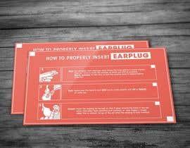 Nro 14 kilpailuun Earplug Instructions - Poster Design Comp käyttäjältä maverickpixels