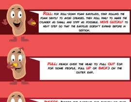 Nro 8 kilpailuun Earplug Instructions - Poster Design Comp käyttäjältä pmtjoker2012