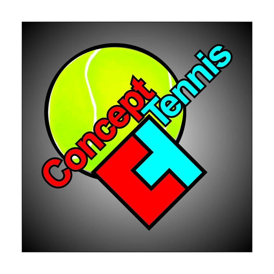 Kilpailutyö #480 kilpailussa Logo Design for ConcepTennis
