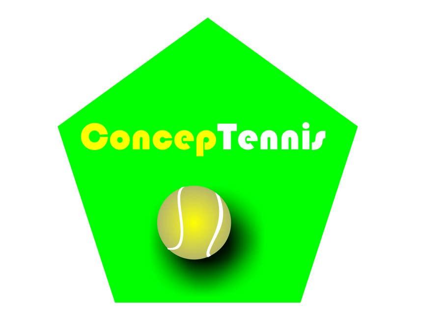 Kilpailutyö #547 kilpailussa Logo Design for ConcepTennis